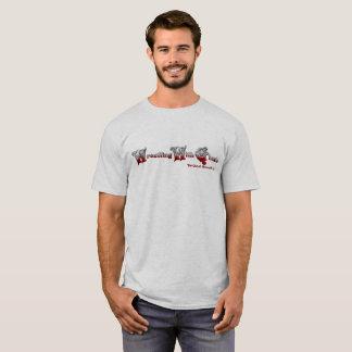Camiseta Luta com o t-shirt (leve) dos fantasmas