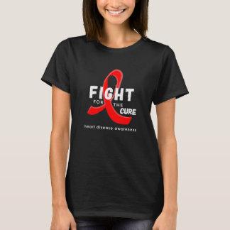 Camiseta Luta da consciência da doença cardíaca para o