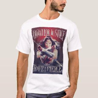 Camiseta Luta da mulher maravilha para justiça