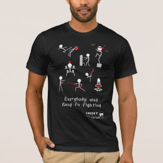 Camiseta Luta de Kung Fu