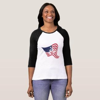 Camiseta Luta do Wrestle do amor da bandeira americana