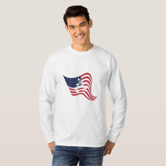 Camiseta Luta do Wrestle do amor da bandeira americana
