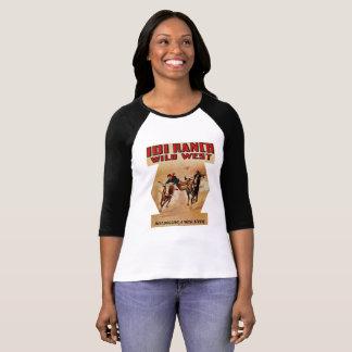 Camiseta Luta ocidental do boi do rodeio de 101 ranchos