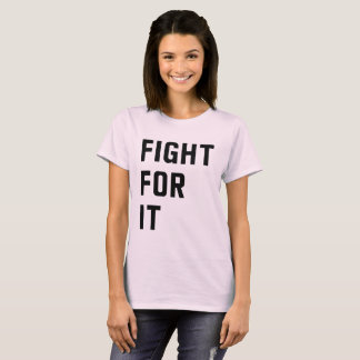 Camiseta Luta para ela
