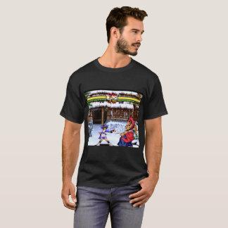 Camiseta Luta retro do jogo de vídeo de Ninja do samurai