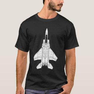 Camiseta Lutador de jato de F-15 Eagle