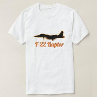 Camiseta Lutador de jato militar escuro do raptor F-22