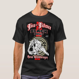 Camiseta Lutador de Jiu-Jitsu pelo original de Ricardo