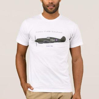 Camiseta Lutador do Tomahawk de P-40B