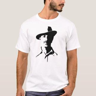 Camiseta Lutador indiano da liberdade de Bhagat Singh