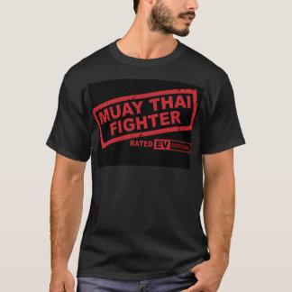 Camiseta Lutador tailandês de Muay (escuro)