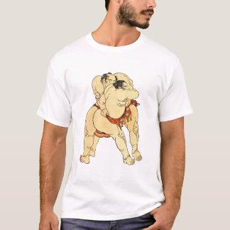 Camiseta Lutadores do Sumo de Hokusai