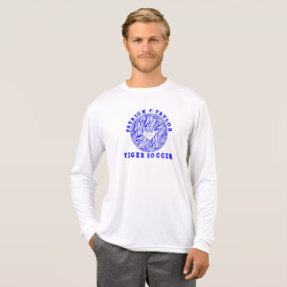 Camiseta Luva 2017 longa do futebol de PFT