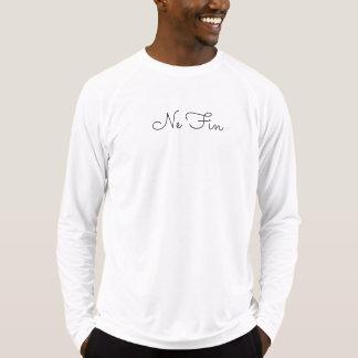 Camiseta Luva longa baseado num guião da aleta do Ne