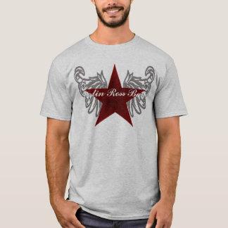 Camiseta luva longa da banda de Justin ross