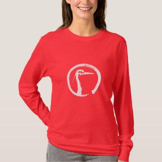 Camiseta Luva longa das senhoras de Budokai da cortiça