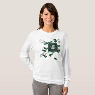 Camiseta Luva longa das senhoras do CRACHÁ de R.W.BURN
