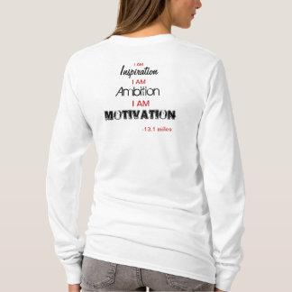 Camiseta Luva longa de Appareal do americano das mulheres