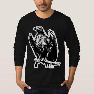 Camiseta Luva longa de Eagle do zombi
