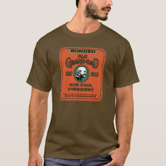 Camiseta Luva longa de Ron Paul Brown