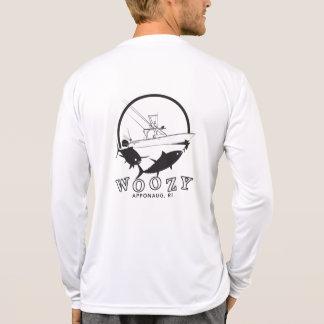 Camiseta Luva longa de Tek do esporte Woozy do atum amarelo