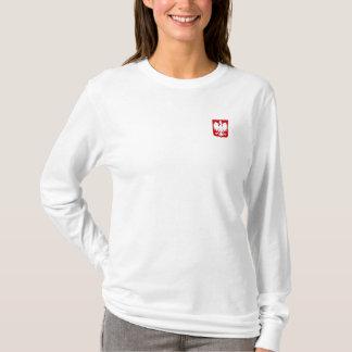 Camiseta Luva longa do AA Hoody das senhoras (cabida)