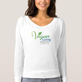 Camiseta Luva longa do Bella das mulheres do programa vivo