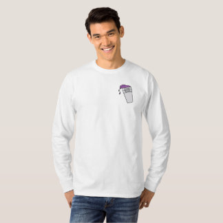Camiseta Luva longa do copo magro