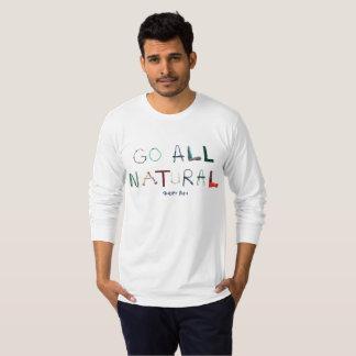 Camiseta Luva longa do jérsei americano da multa do roupa