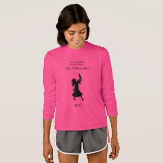 Camiseta Luva longa do Nutcracker das meninas do programa