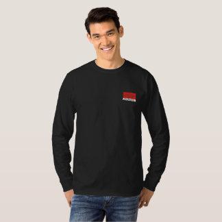 Camiseta Luva longa dos dentes do Fox - preto