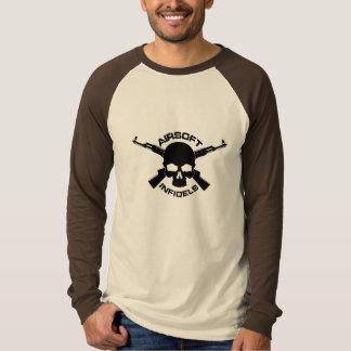Camiseta Luva longa oficial dos infiel de Airsoft