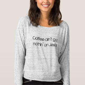 Camiseta luva longa slouchy