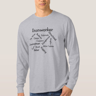 Camiseta Luva longa T do Ironworker