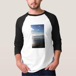 Camiseta Luva Sunpyx do t-shirt 3/4 dos homens do verão de