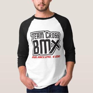 Camiseta Luva transversal da equipe BMX 3/4