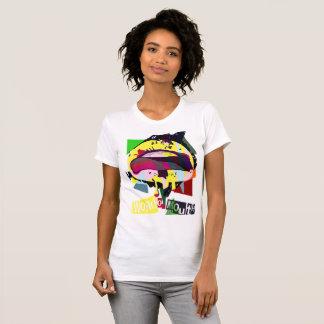 Camiseta Luz - amarelo