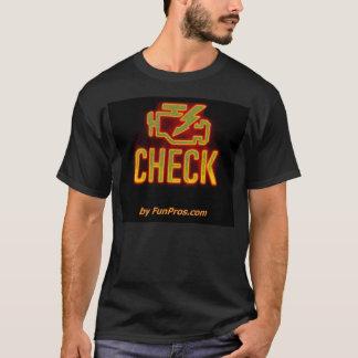 Camiseta Luz de incandescência do idiota do motor da