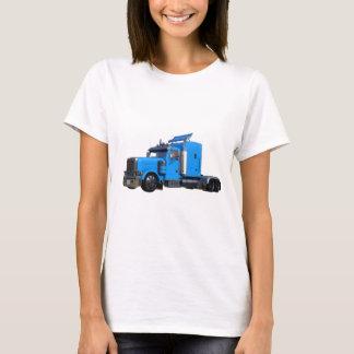 Camiseta Luz - do azul caminhão semi na opinião dos três