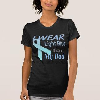 Camiseta Luz do cancro da próstata - logotipo da