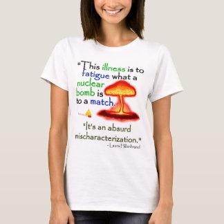 Camiseta Luz do Mischaracterization de CFS/Absurd