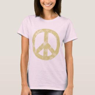 Camiseta Luz do sinal de paz afligida
