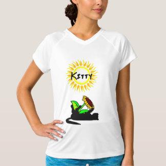 Camiseta Luz do sol do gato do gatinho