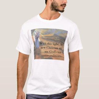 Camiseta Luz dos dez mandamentos