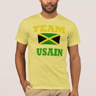 Camiseta luz dos homens do parafuso do usain - t-shirt