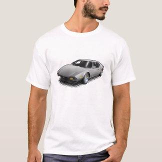 Camiseta Luz - Pantera cinzento no t-shirt branco