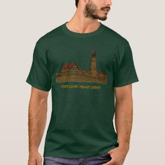 Camiseta Luz principal de Portland - t-shirt verde