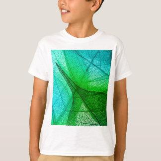 Camiseta Luz solar que filtra através das folhas