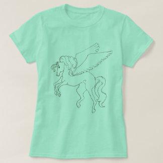 Camiseta Luz - t-shirt verde de Pegasus