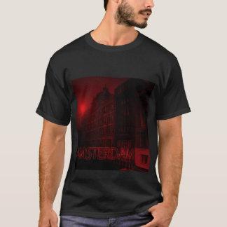 Camiseta luz vermelha de Amsterdão